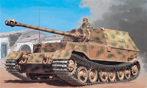 Italeri: 1:35 SD.KFZ.184 Panzerjager Elefant - Model Kit image