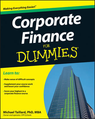 Corporate Finance For Dummies by Michael Taillard
