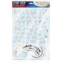 Star Trek: U.S.S. Reliant Aztec - Model Decal Sheet
