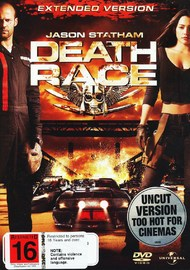 Death Race - Extended Version on DVD