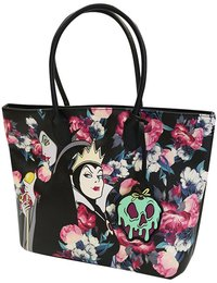 Loungefly: Disney Villains - Floral Tote Bag