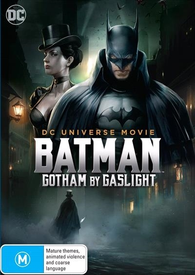 Gotham by Gaslight on DVD image
