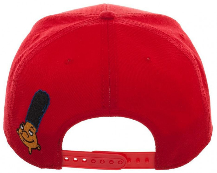 Hey Arnold Gerald Red Snapback Cap image