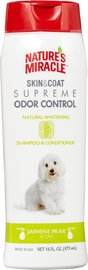 Natures Miracle: Supreme Odor Control Natural Whitening Shampoo and Conditioner