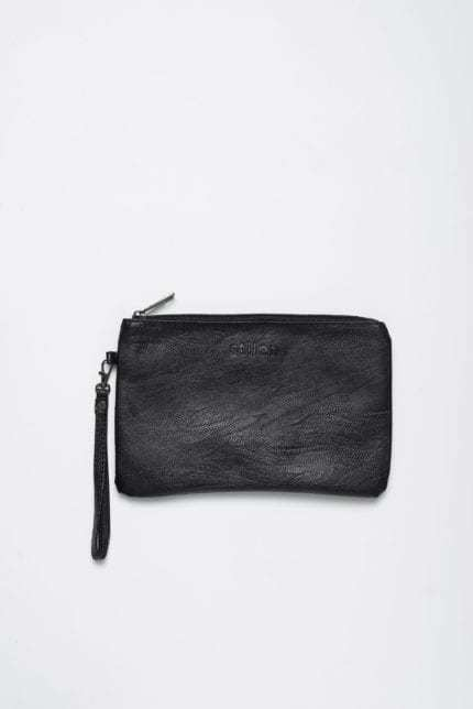 Stilen: Darby black clutch