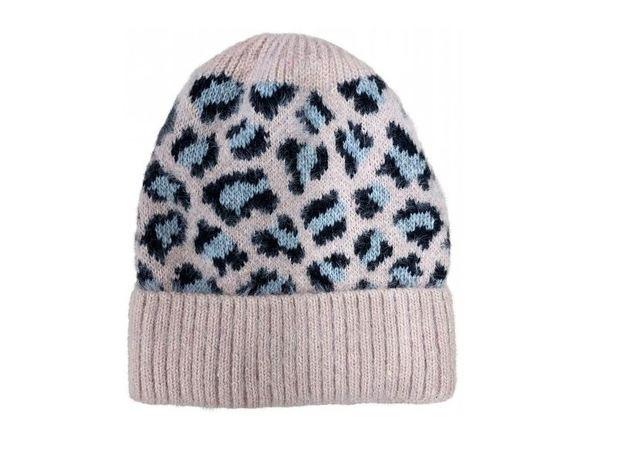Leopard Beanies - Blush
