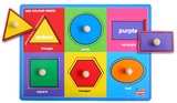 Fun Factory: Shapes Puzzle With Knobs