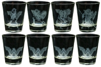 Wonder Woman Movie - Frosted Shot Glass Set