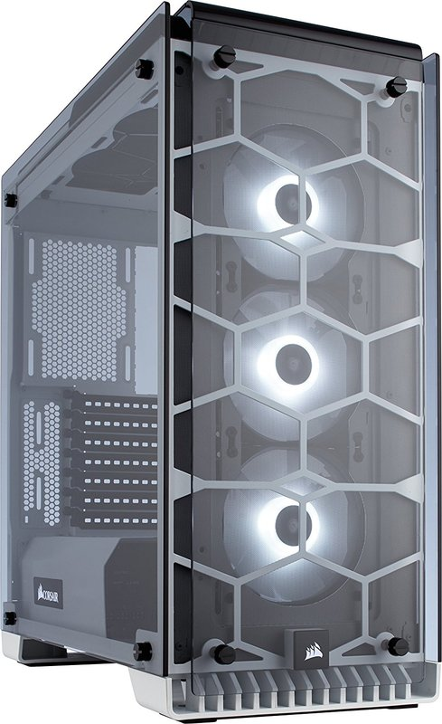 Corsair Crystal Series 570X RGB Full Tempered Glass Gaming ATX Mid-Tower Case