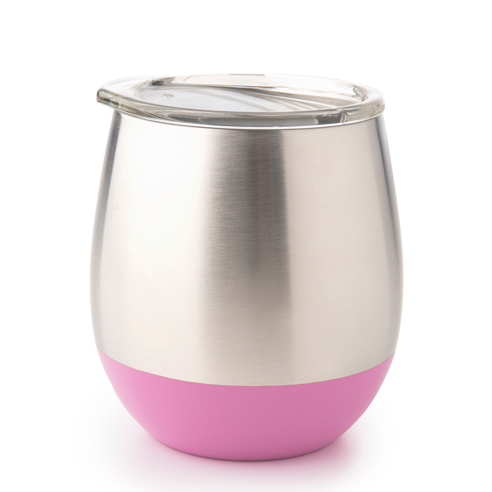 Stainless Steel Insulated Glass - Pink (240ml) image