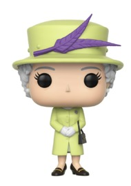 Royals: Queen Elizabeth II (Green ver.) - Pop! Vinyl Figure