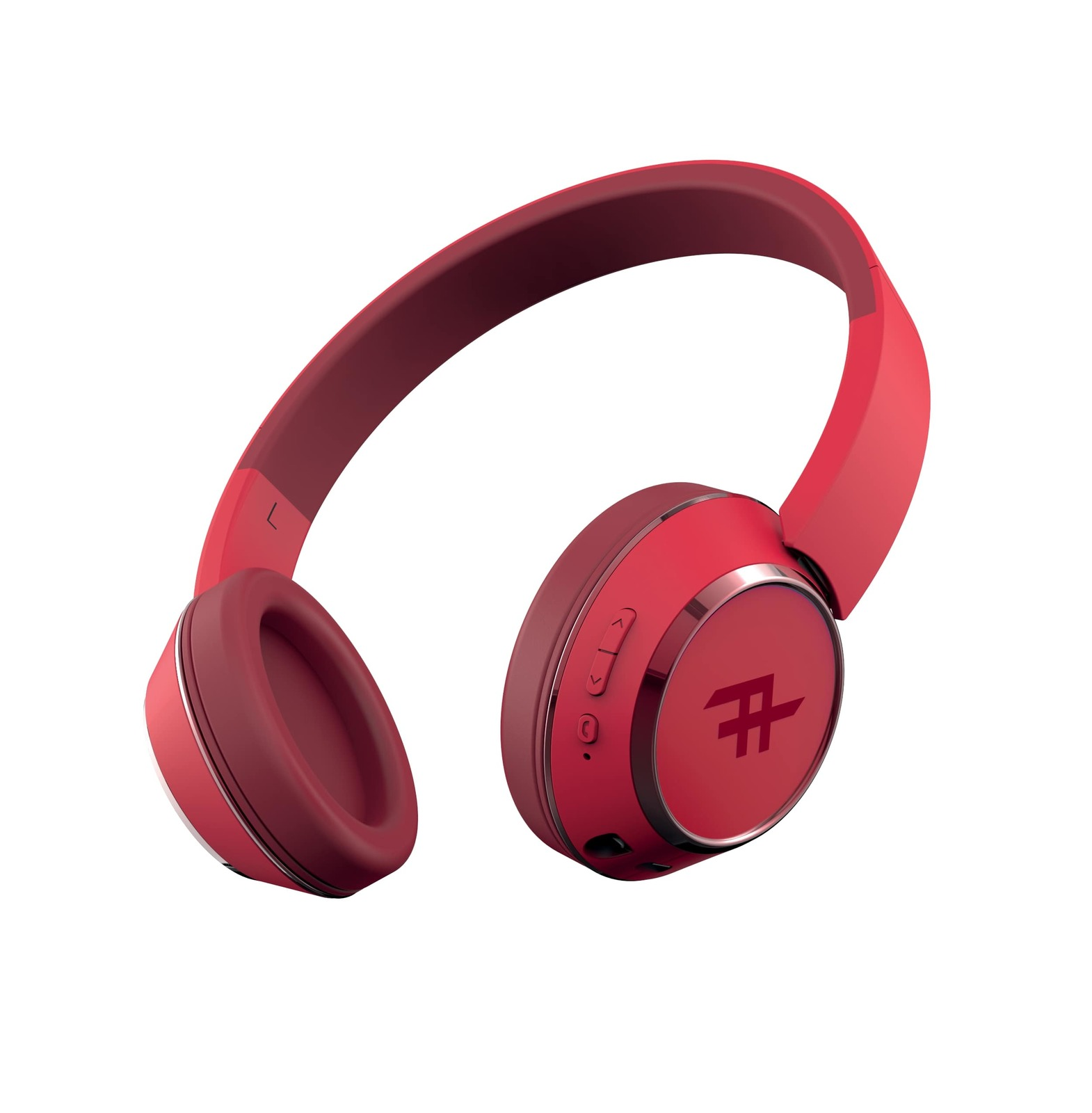 iFrogz: Coda Wireless Bluetooth Headphones With Mic - Red image