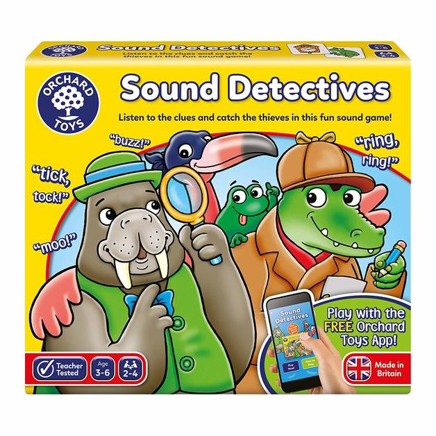 Orchard Toys: Sound Detectives - Children's Game