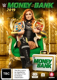 WWE: Money In The Bank 2019 on DVD image