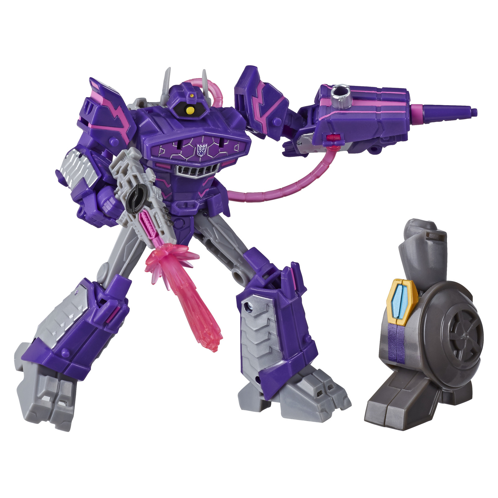 Transformers Cyberverse: Deluxe Class Action Figure - Shockwave image