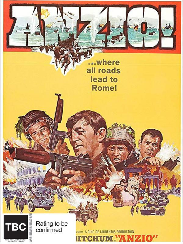 Anzio (Combat Classics) on DVD