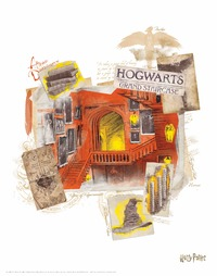 Harry Potter - Lithograph Set
