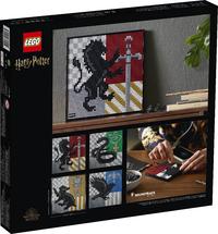 LEGO: Art - Harry Potter - Hogwarts Crests (31201)