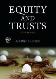Equity and Trusts by Alastair Hudson image