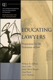Educating Lawyers by William M. Sullivan image