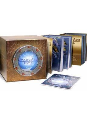 Stargate SG-1 - Complete Seasons 1-10 (59 Disc Box Set) on DVD