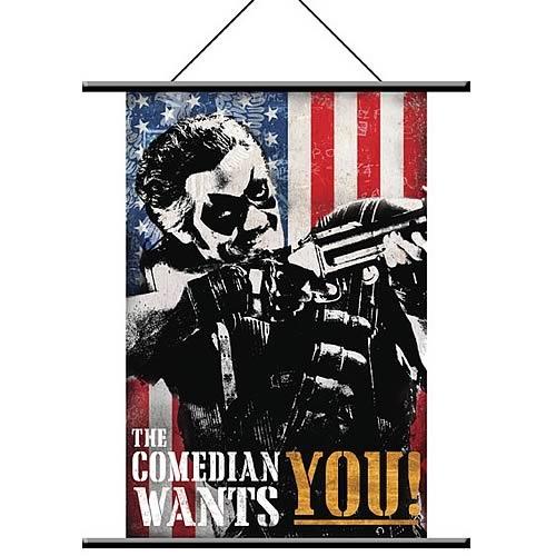 Watchmen Comedian Pop Art Wall Scroll