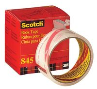Scotch 845 Transparent Book Repair Tape 50mm x 13.7m