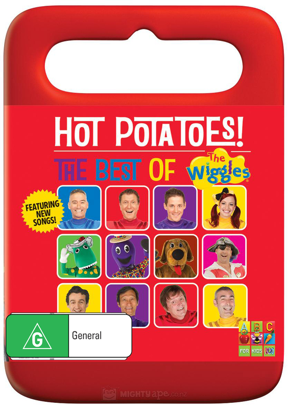 Hot Potatoes! The Best of The Wiggles on DVD
