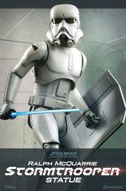 "Star Wars: 18"" Ralph McQuarrie Stormtrooper Statue"