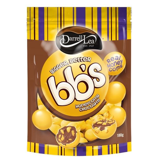 Darrell Lea Bbs Choc Honeycomb Balls 180g At Mighty