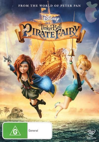 Tinker Bell and the Pirate Fairy on DVD