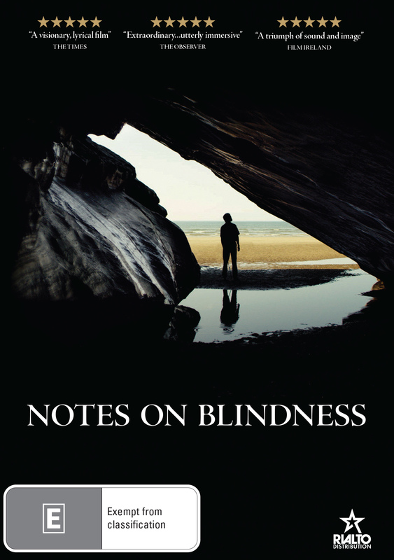 Notes On Blindness on DVD