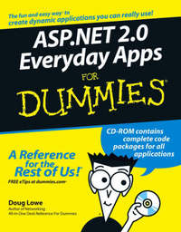 ASP.NET 2.0 Everyday Applications For Dummies by B. Salas image