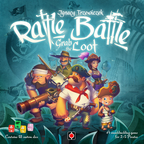 Rattle Battle: Grab the Loot - Board Game