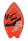 "Maddog: MSB137 - 37"" Thrash Skimboard (Retro Red)"