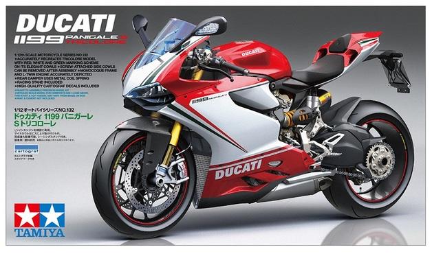 Tamiya: 1/12 Ducacti Panigale S (Tricolore) - Model Kit