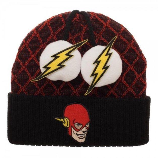DC Comics: Flash - Lighting Pom Beanie