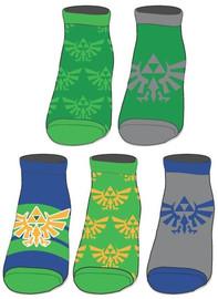 The Legend of Zelda: Hylian Crest - Ankle Socks Set (5-Pack)