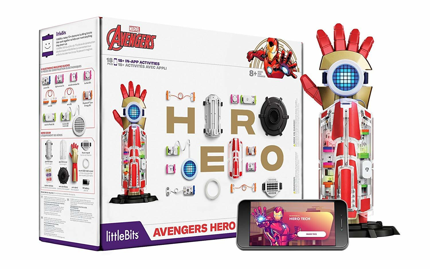 LittleBits: Marvel Avengers - Hero Inventor Kit image