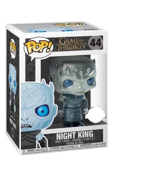 Game of Thrones - Night King (Metallic) - Pop! Vinyl image