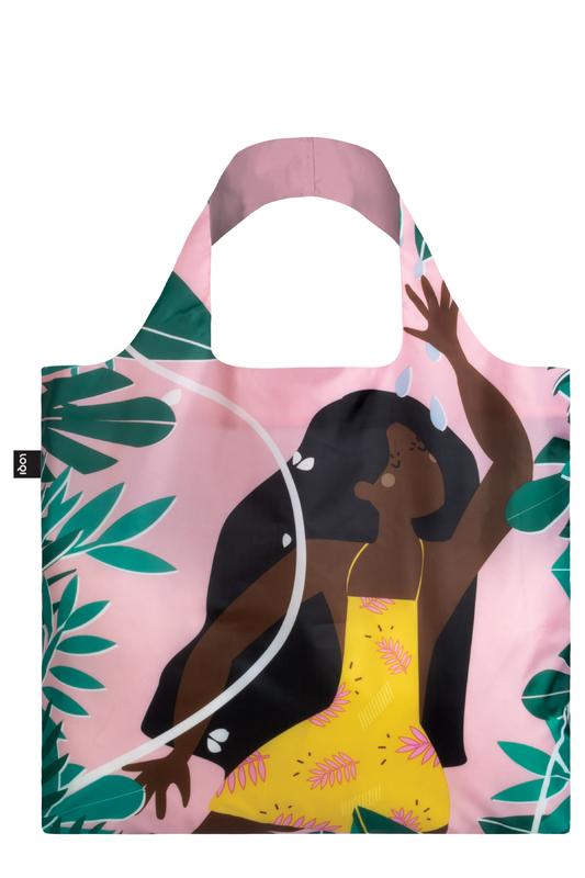 Loqi: Shopping Bag Celeste Wallaert Collection - Jungle Fairy