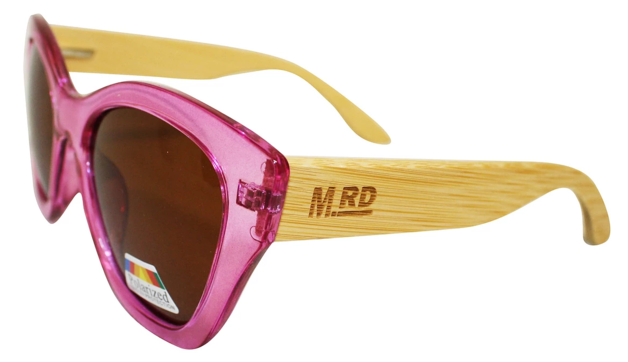 Moana Rd: Hepburns Sunglasses - Pink