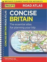 Philip's Concise Atlas Britain by Philip's Maps