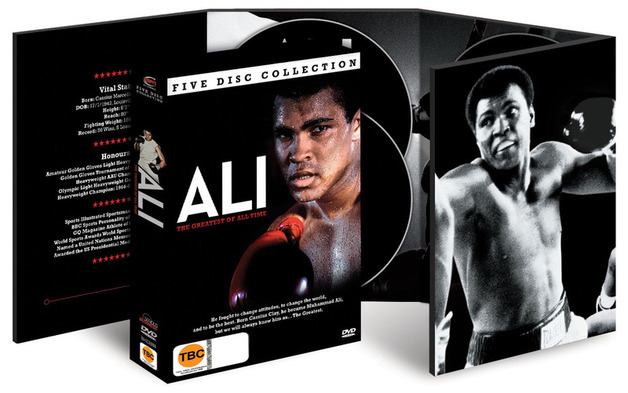 Ali The Greatest of All Time (5 Disc Set) on DVD