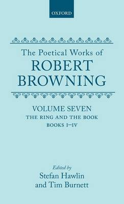 The The Poetical Works of Robert Browning: Volume VII by Robert Browning image