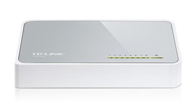 TP-Link: TL-SF1008D – 8-Port 10/100Mbps Desktop Switch