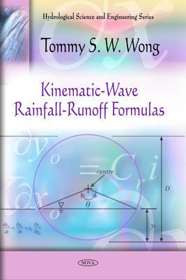 Kinematic-Wave Rainfall-Runoff Formulas by Tommy S.W. Wong image