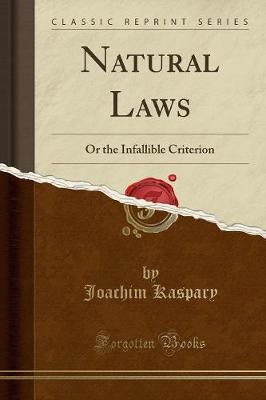 Natural Laws by Joachim Kaspary