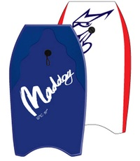 """Maddog: Epic - 37"""" Bodyboard (Blue)"""