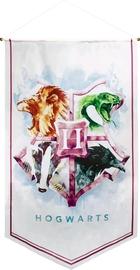 Harry Potter Watercolour Satin Banner (Hogwarts)